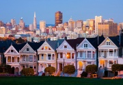 San-Francisco the Painted Ladies